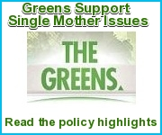 Greens support single-mother issues