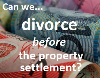 Go to the Expert Panel divorce and property settlement question and answer